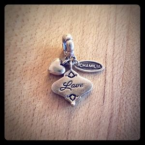 Authentic Chamilia Her Gift of Love Charm